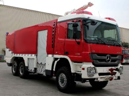 Actros Fire Truck-side