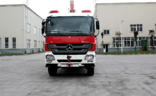 Actros Fire Truck- front
